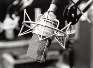 An old school Microphone